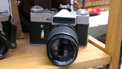 Zenit E 35mm Film Camera