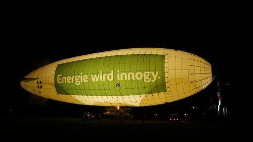zeppelin night lighting