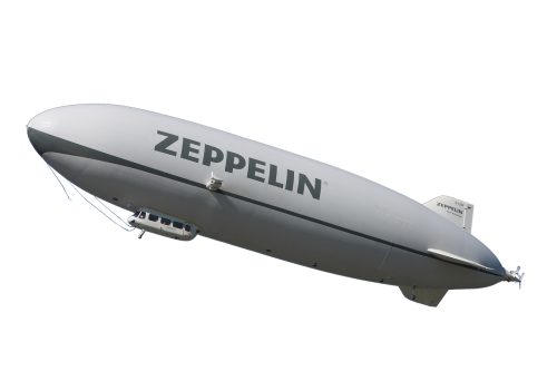 zeppelin airship fly