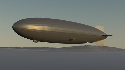 zeppelin  airship  hindenburg
