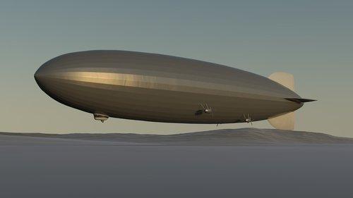 zeppelin  airship  hindenburg