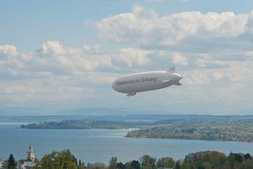 zeppelin airship lake constance