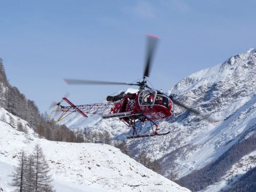 zermatt helicopter scenic flight