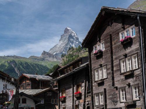 zermatt switzerland traditionally