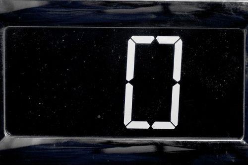 zero electronic digit