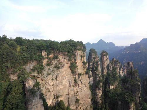 zhangjiajie mountains stalagmite