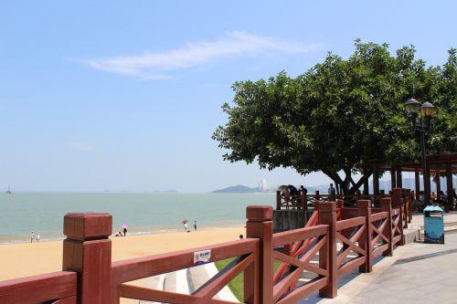zhuhai beautiful bay beach