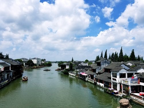 zhujiajiao  the ancient town  fresh