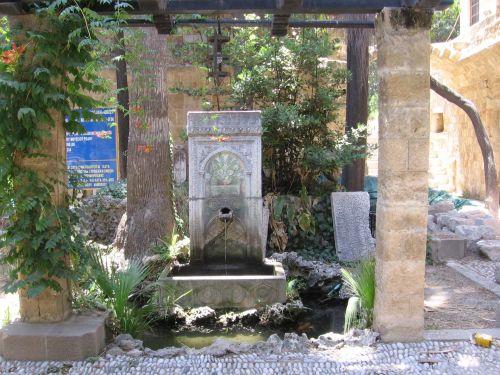 Jewish Cemetery In Rhodes