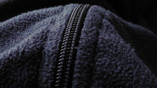 zip fabric jacket
