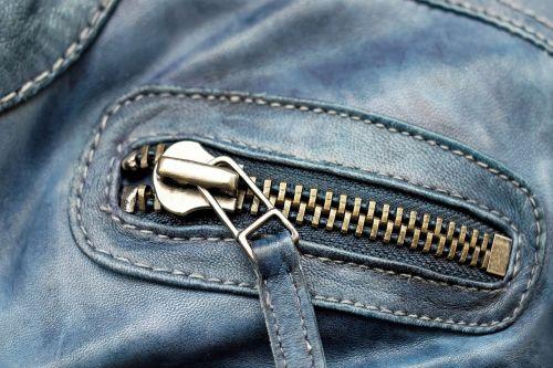 zip metal shiny