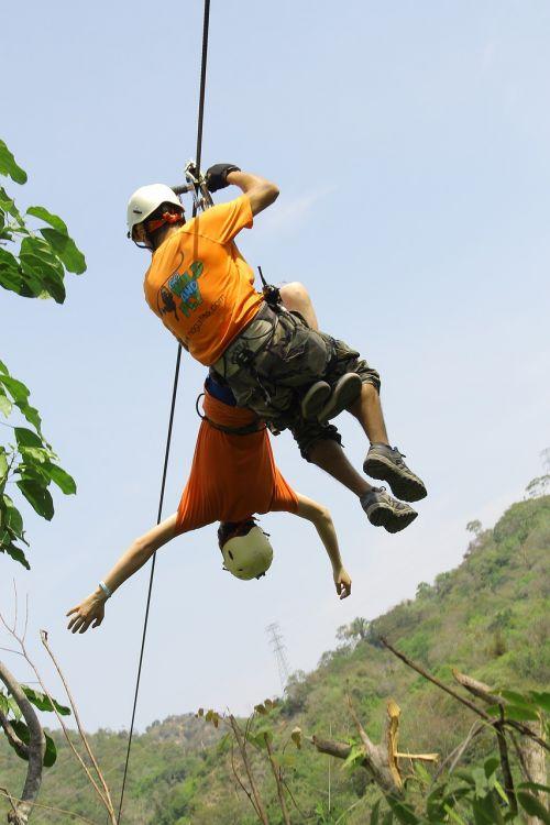 zip line risk adventure