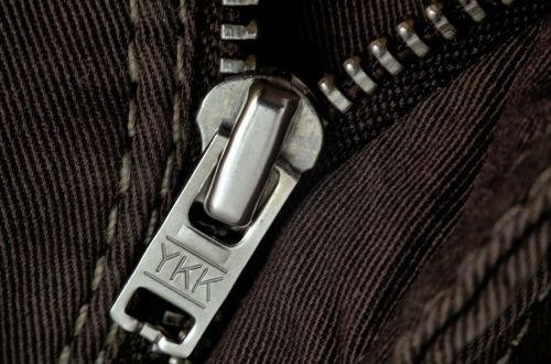 zipper closure fabric