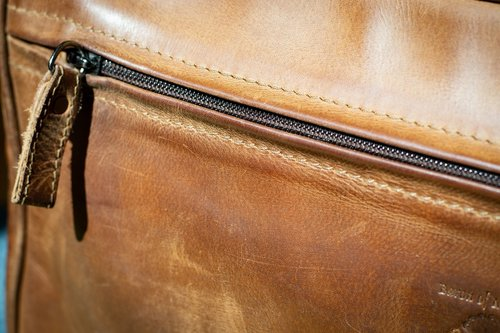 zipper  leather  leather goods