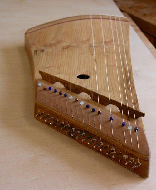 zither  harp  zither harp