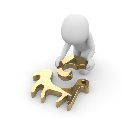 zodiac sign gold symbol
