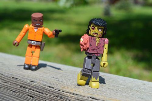 zombie walking dead gunman