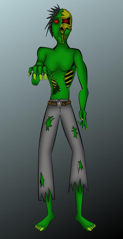 zombie alien undead