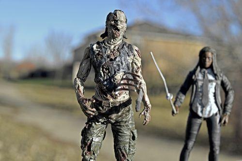 zombie walking dead michonne