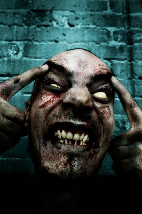 zombie horror scary