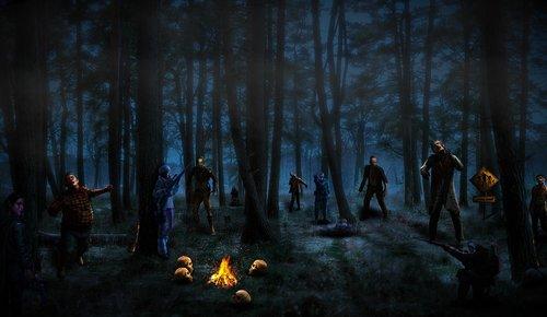 zombie  survivors  haunted