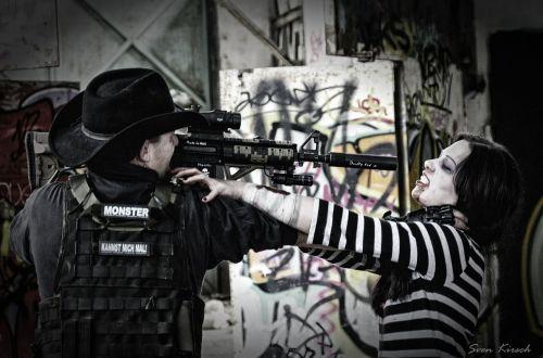 zombie shot violent