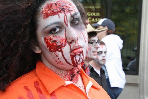 zombie blood halloween