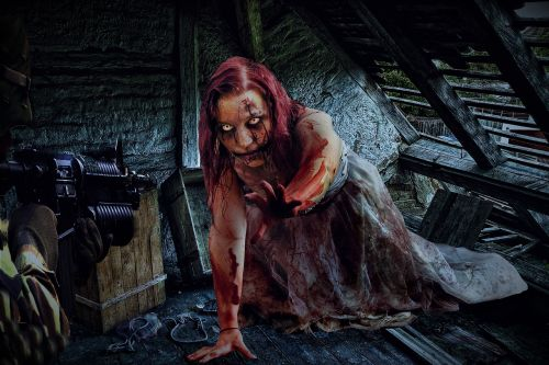 zombie woman soldier