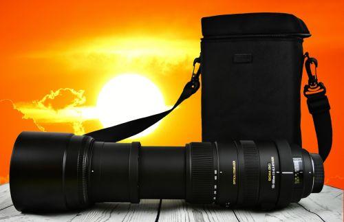 zoom sun lens