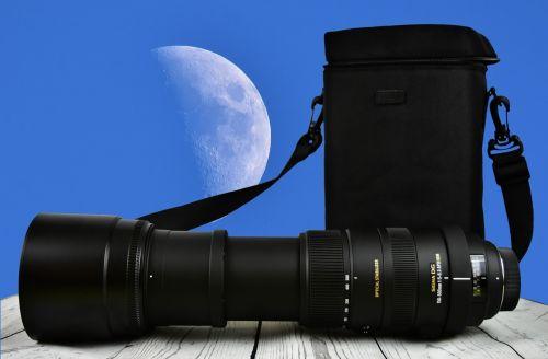 zoom moon lens