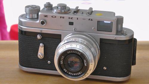 Zorki 4 35mm Rangefinder Camera