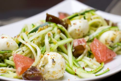 zucchini noodles healthy