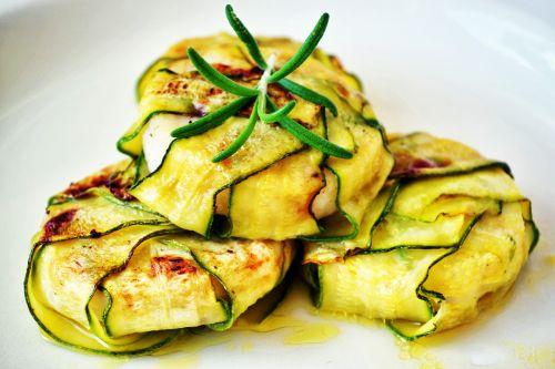zucchini wraps zucchini slices food