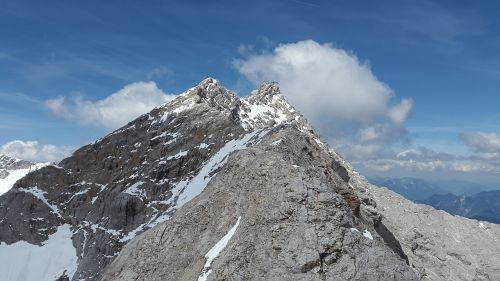 zugspitze arête ridge