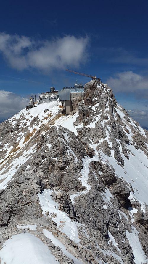 zugspitze summit arête