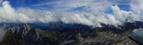 zugspitze mountain mountain range