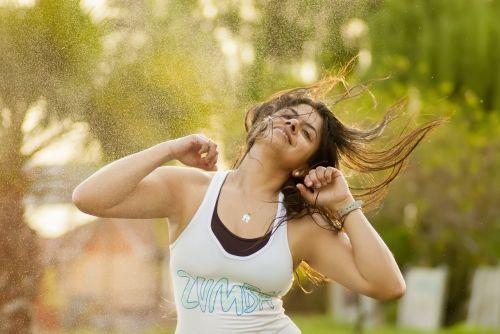 zumba sport exercise