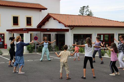 zumba dance gymnastics