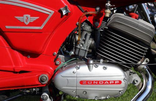zundapp moped engine