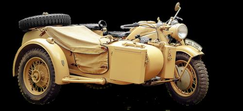 zündapp ks 750  motorcycle team  model years 1939 to 1948