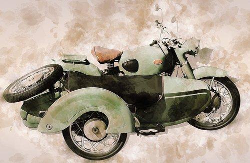 zündapp sidecar  sidecar  oldtimer