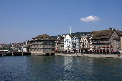 zurich zurich switzerland river