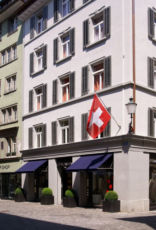 zurich switzerland flag