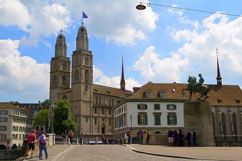 zurich switzerland grossmünster